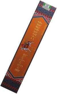 Благовоние Лавран (La bu leng Tibetan Incense), оранжевая упаковка, 148 палочек по 23 см.