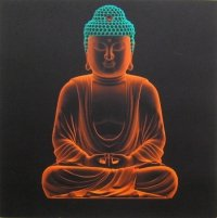 Плакат Будда 3D (30 x 30 см).