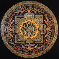 Плакат Мандала (30 x 30 см).