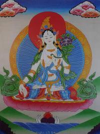 Плакат Белая Тара (29 x 36 см).