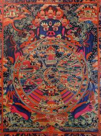 Плакат Колесо сансары (29 х 36 см).