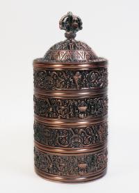 Шитро (высота 17,5 см, диаметр чаши 7,5 см).