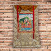 Тханка Ваджрасаттва Яб-Юм (71 x 108 см).