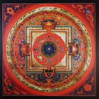 Плакат Мандала Калачакры (30 х 30 см).