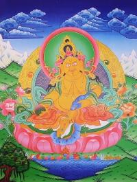 Плакат Дзамбала (30 x 40 см).
