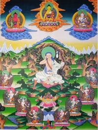Плакат Миларепа (30 x 40 см).