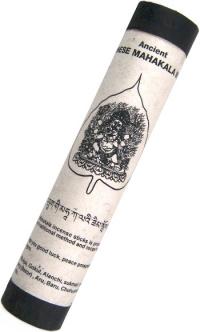 Ancient Bhutanese Mahakala Incense (Древнее бутанское благовоние Махакала), 19 палочек по 18,5 см.