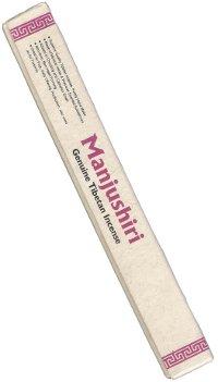 Благовоние Manjushiri, 30 палочек по 24 см.