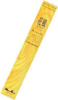 Благовоние Hinoki (Японский кипарис), 50 палочек по 14 см.