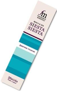 Купить Благовоние Siesta (Сиеста), 20 палочек по 9 см в интернет-магазине Dharma.ru