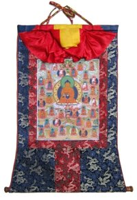 Тханка 35 Будд Покаяния (печатная, 57 х 82 см).