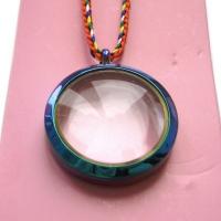 Гау прозрачное стеклянное (фиолетовое, 3 см).