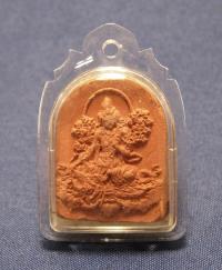 Купить Амулет глиняный Зеленая Тара в интернет-магазине Dharma.ru