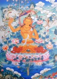 Плакат Манджушри (30 x 40 см).