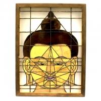 Светильник «Голова Будды».