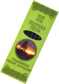 """Традиционные Русские Благовония """"Северная сосна"""", 7 свечек по 11,3 см."""