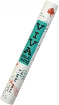 Благовоние Mainichikoh Viva (сандал, сосна), 45 палочек по 13,5 см.