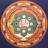 Плакат Мандала Ямараджи (30 х 30 см).