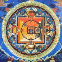 Плакат Мандала Шри Ваджрабхайравы (30 х 30 см).