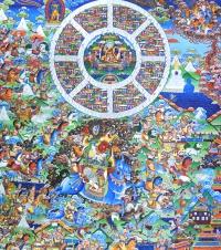 Плакат Шамбала (30 x 35 см).