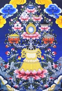Плакат Аштамангала (30 x 40 см).