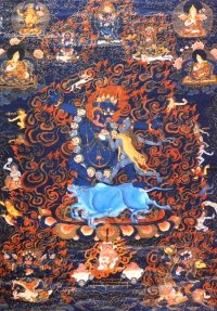 Плакат Ямараджа (30 x 40 см).