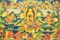 Плакат Будда Шакьямуни (40 x 27 см).