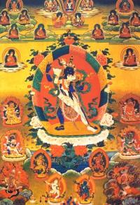 Плакат Чакрасамвара (27 x 40 см).