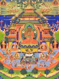 Плакат Будда Майтрея (30 x 40 см).
