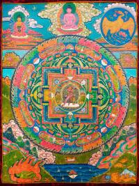 Плакат Мандала Чакрасамвары (30 x 40 см).