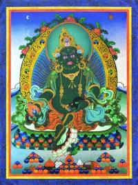 Плакат Зеленый Дзамбала (30 x 40 см).