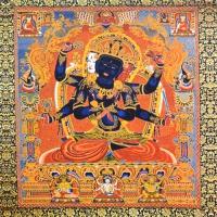 Плакат Гухьясамаджа (30 х 34 см).