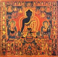 Плакат Будда Медицины (30 х 30 см).
