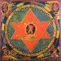 Плакат Мандала Ваджрайогини (30 х 30 см).