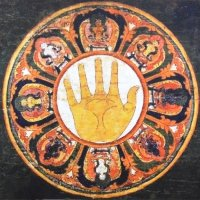 Плакат Мандала (30 х 30 см).
