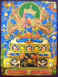 Плакат Гухьясамаджа (30 x 40 см).