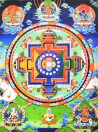 Плакат Мандала мудрости (30 x 40 см).