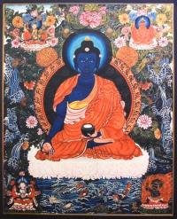 Плакат Будда Медицины (30 x 37 см).