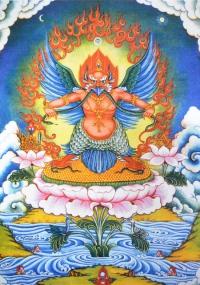 Плакат Гаруда (28 x 40 см).