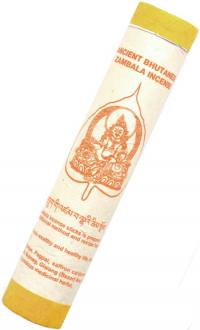 Ancient Bhutanese Zambala Incense (Древнее бутанское благовоние Дзамбала), 19 палочек по 18,5 см.