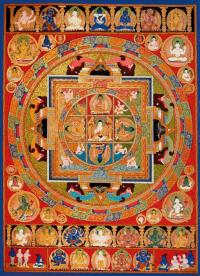 Плакат Мандала (29 x 40 см).