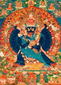 Плакат Ямантака (Ваджрабхайрава) (29 x 40 см).