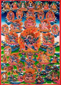 Плакат Ваджракилайя (29 x 40 см).