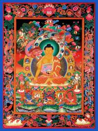 Плакат Будда Шакьямуни (30 x 40 см).