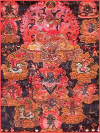 Плакат Гневные проявления Падмасамбхавы (30 x 40 см).