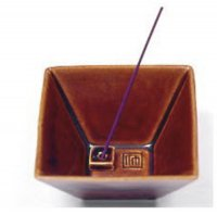 Подставка под благовония керамическая Yukari Bowl Brown.