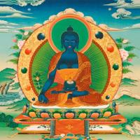 Открытка Будда Медицины (13 x 13 см).