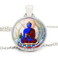 Купить Подвеска с Буддой Медицины (2,8 см) в интернет-магазине Dharma.ru