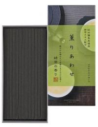 Благовоние Kaori Awase Green Tea (зелёный чай), 170 палочек по 14 см.