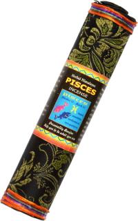 Благовоние Pisces Zodiac Incense (Рыбы), 37 палочек по 17,5 см.